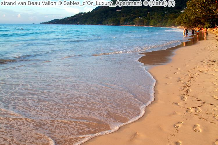 strand van Beau Vallon Sables d'Or Luxury Apartment Mahé