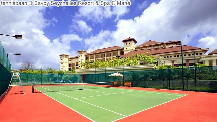 tennisbaan Savoy Seychelles Resort & Spa Mahé