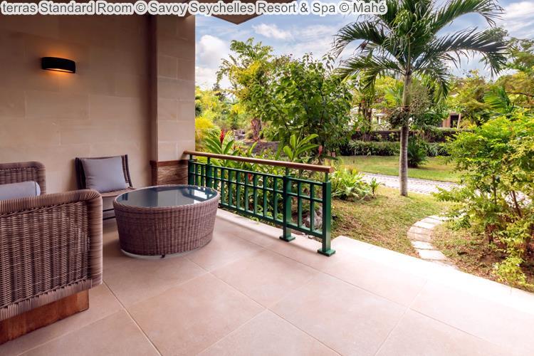 terras Standard Room Savoy Seychelles Resort & Spa Mahé