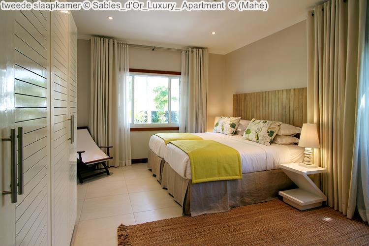 tweede slaapkamer Sables d'Or Luxury Apartment Mahé