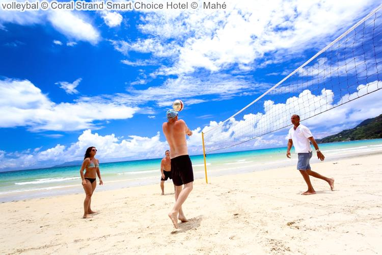 volleybal Coral Strand Smart Choice Hotel Mahé
