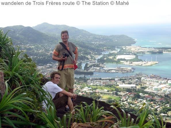 wandelen de Trois Frères route The Station Mahé