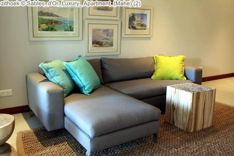 zithoek Sables d'Or Luxury Apartment Mahe