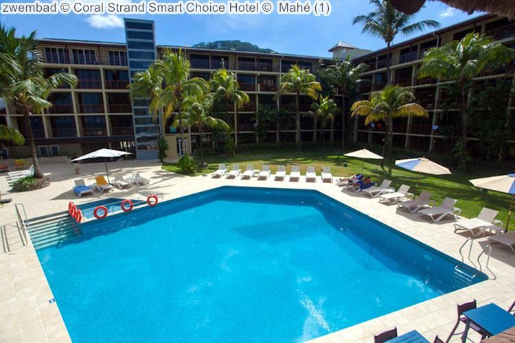 zwembad Coral Strand Smart Choice Hotel Mahé