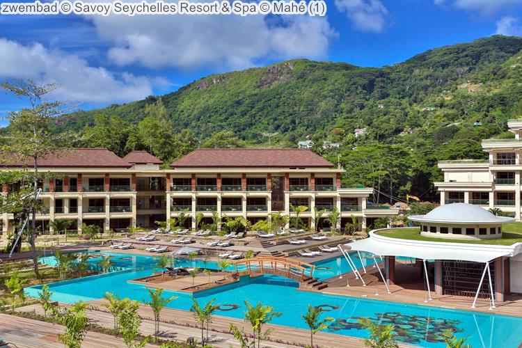 zwembad Savoy Seychelles Resort & Spa Mahé
