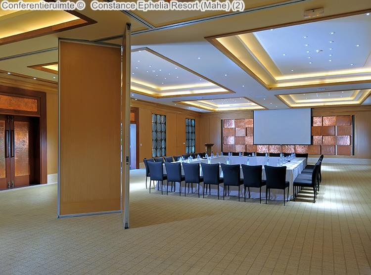 Conferentieruimte Constance Ephelia Resort Mahe