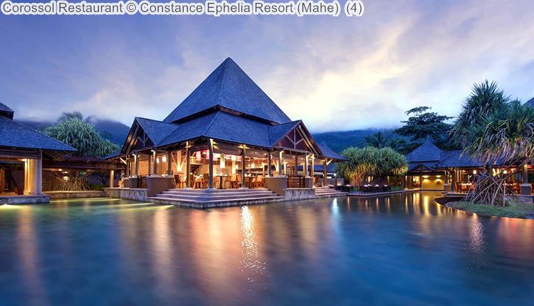 Corossol Restaurant Constance Ephelia Resort Mahe