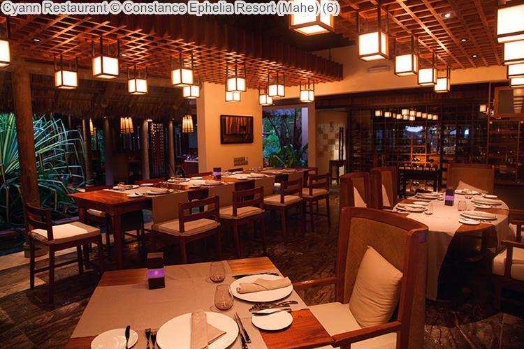 Cyann Restaurant Constance Ephelia Resort Mahe