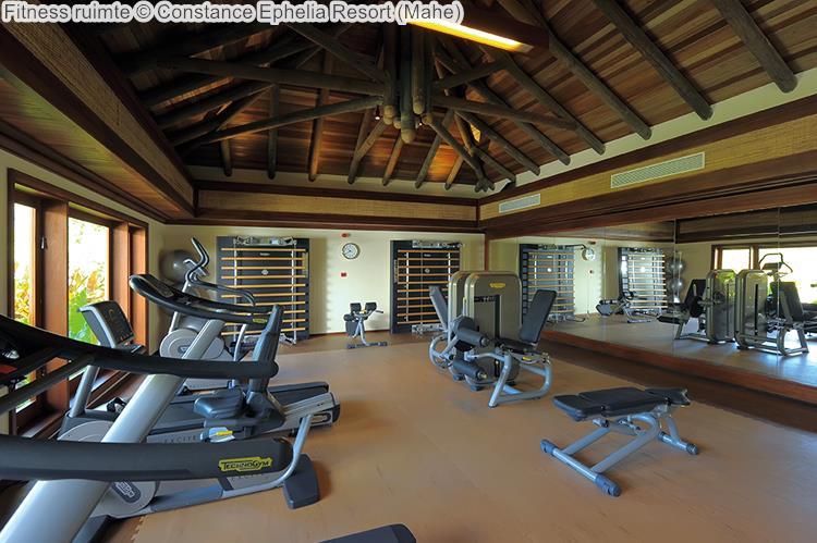 Fitness ruimte Constance Ephelia Resort Mahe