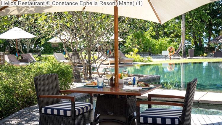 Helios Restaurant Constance Ephelia Resort Mahe
