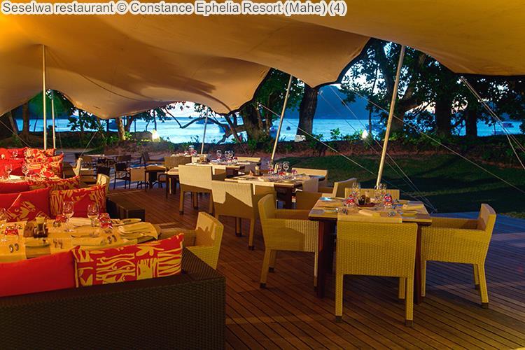 Seselwa restaurant Constance Ephelia Resort Mahe