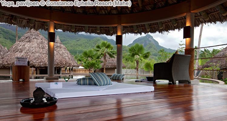 Yoga paviljoen Constance Ephelia Resort Mahe