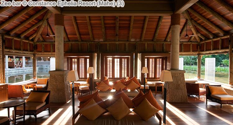 Zee bar Constance Ephelia Resort Mahe