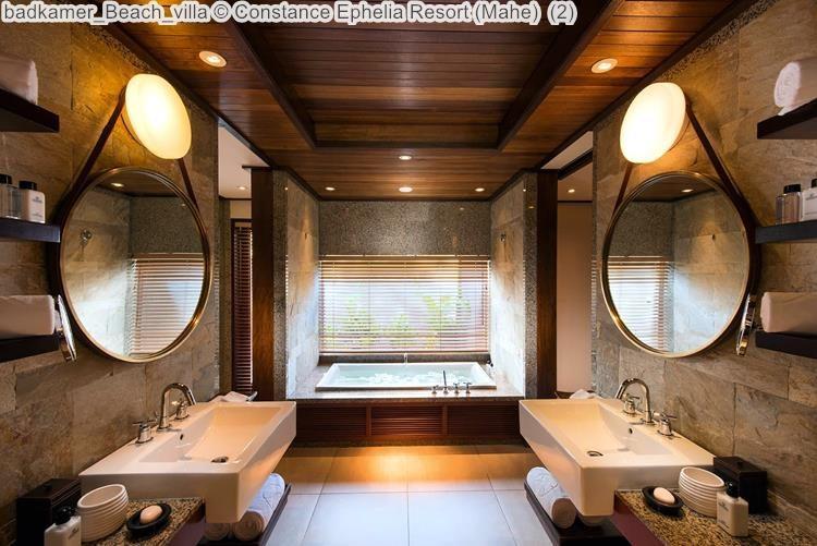 badkamer Beach villa Constance Ephelia Resort Mahe