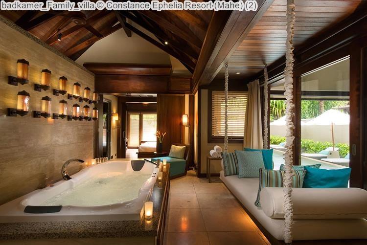 badkamer Family villa Constance Ephelia Resort Mahe