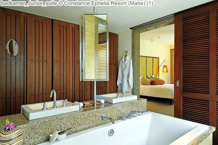 badkamer Junior suite Constance Ephelia Resort Mahe