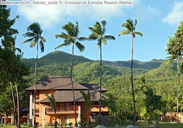 buitenaanzicht Senior suite Constance Ephelia Resort Mahe