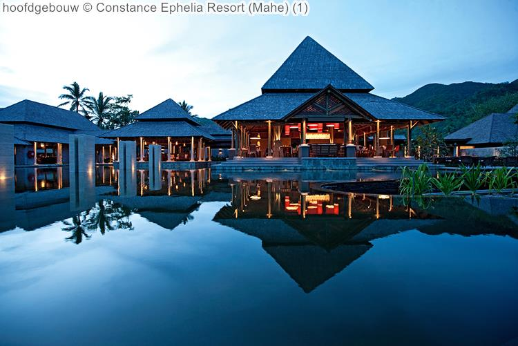 hoofdgebouw Constance Ephelia Resort Mahe