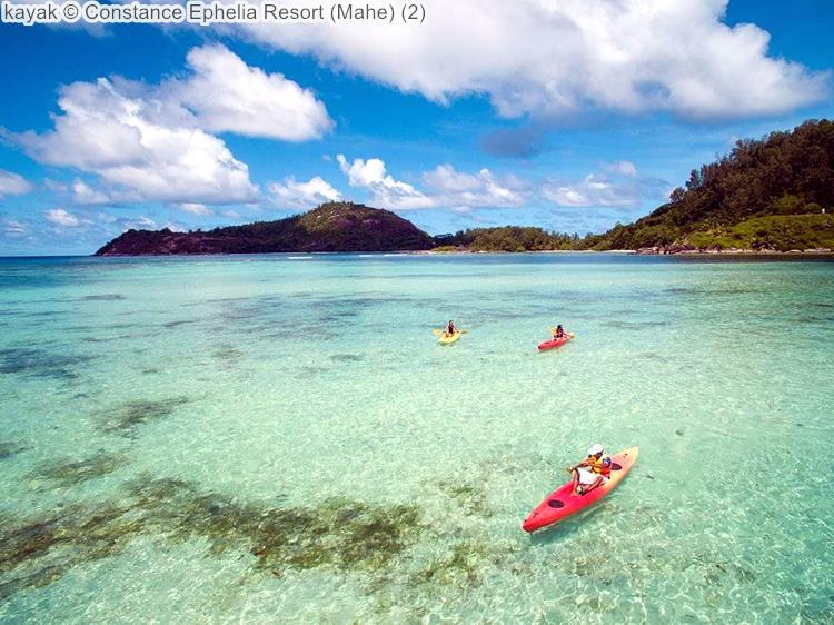 kayak Constance Ephelia Resort Mahe