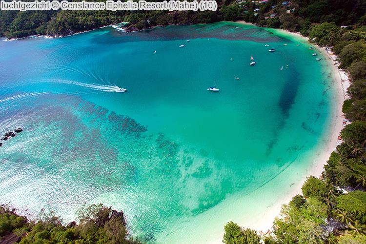luchtgezicht Constance Ephelia Resort Mahe