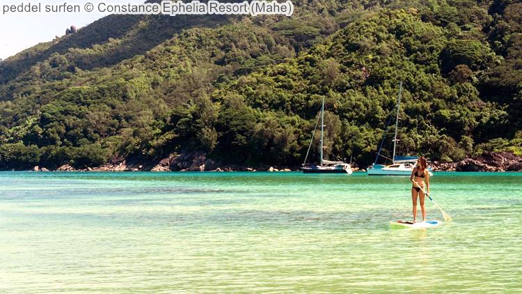 peddel surfen Constance Ephelia Resort Mahe