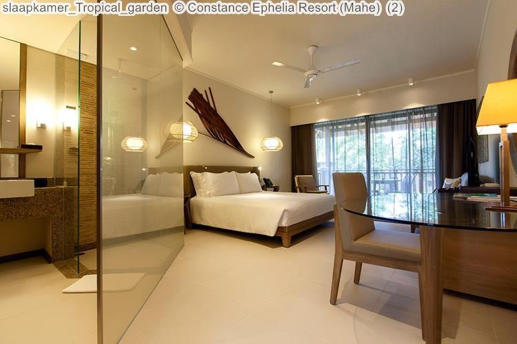 slaapkamer Tropical garden Constance Ephelia Resort Mahe