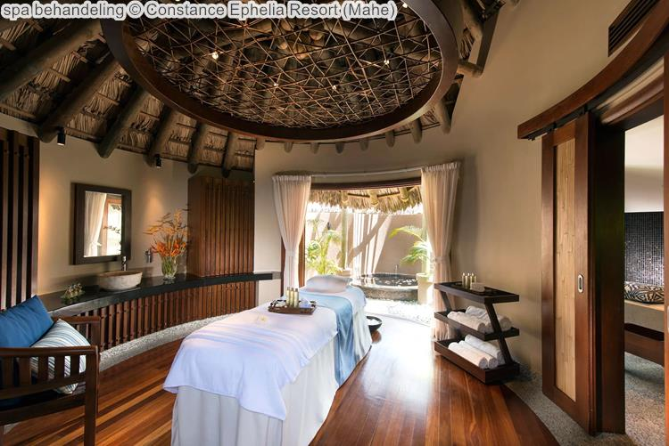 spa behandeling Constance Ephelia Resort Mahe