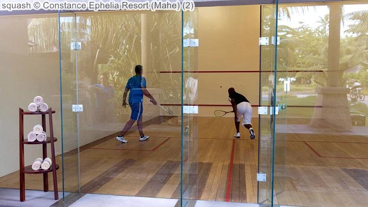 squash Constance Ephelia Resort Mahe