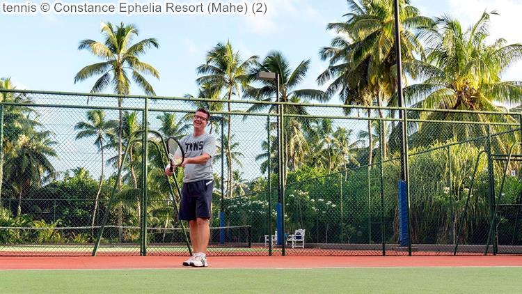 tennis Constance Ephelia Resort Mahe