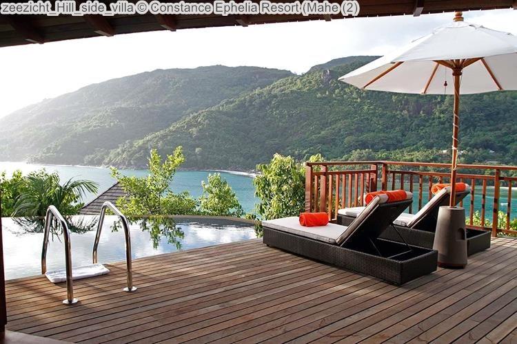 zeezicht Hill side villa Constance Ephelia Resort Mahe
