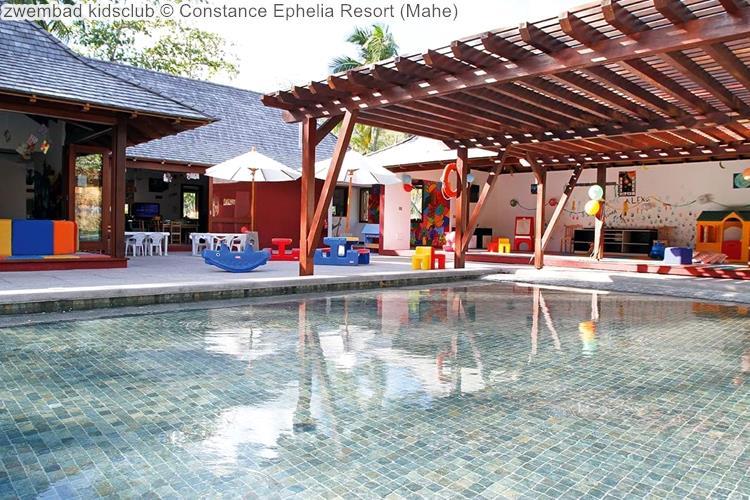 zwembad kidsclub Constance Ephelia Resort Mahe