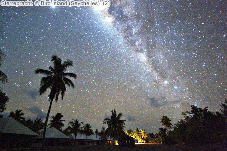 Sterrepracht Bird Island Seychelles