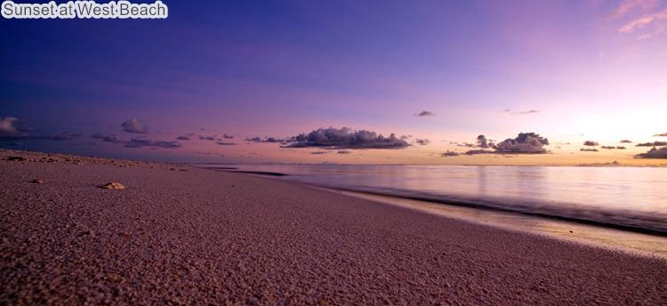 Sunset at West Beach