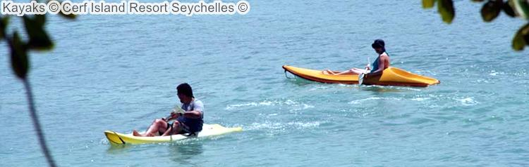 Kayaks Cerf Island Resort Seychelles