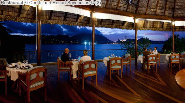 Restaurant Cerf Island Resort Seychelles