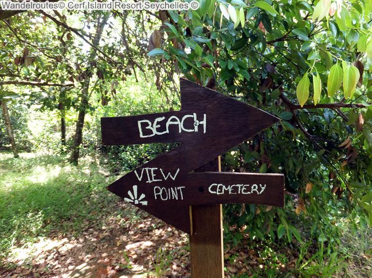 Wandelroutes Cerf Island Resort Seychelles