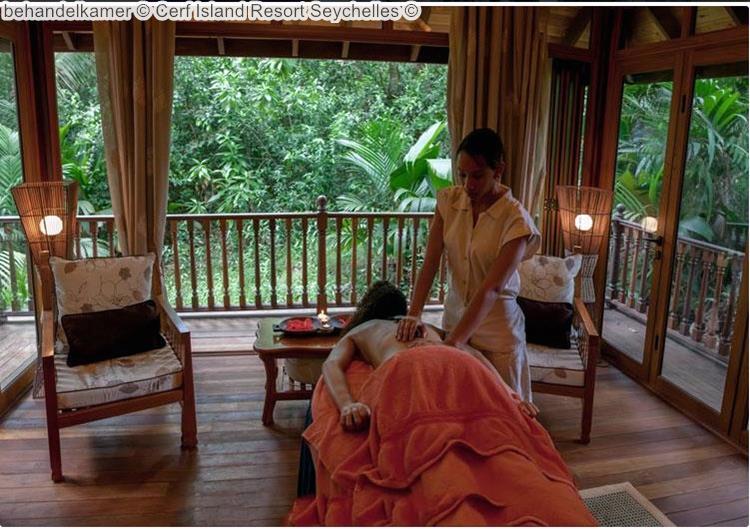 behandelkamer Cerf Island Resort Seychelles