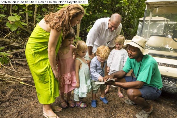 Activiteiten in de natuur Denis Private Island Seychelles