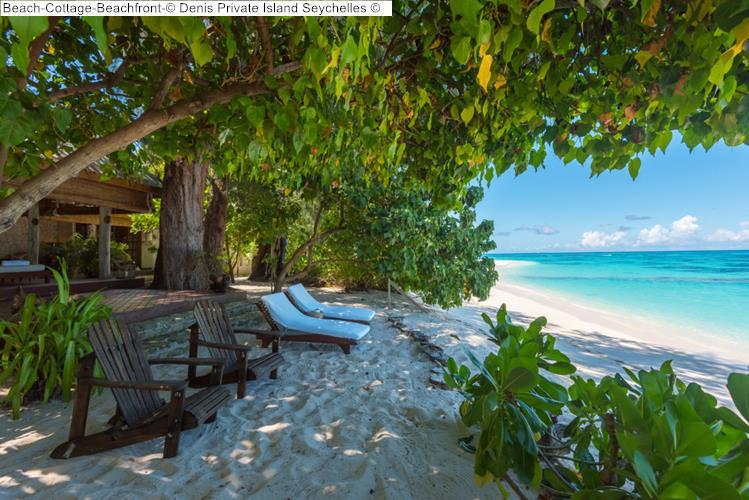 Beach Cottage Beachfront Denis Private Island Seychelles