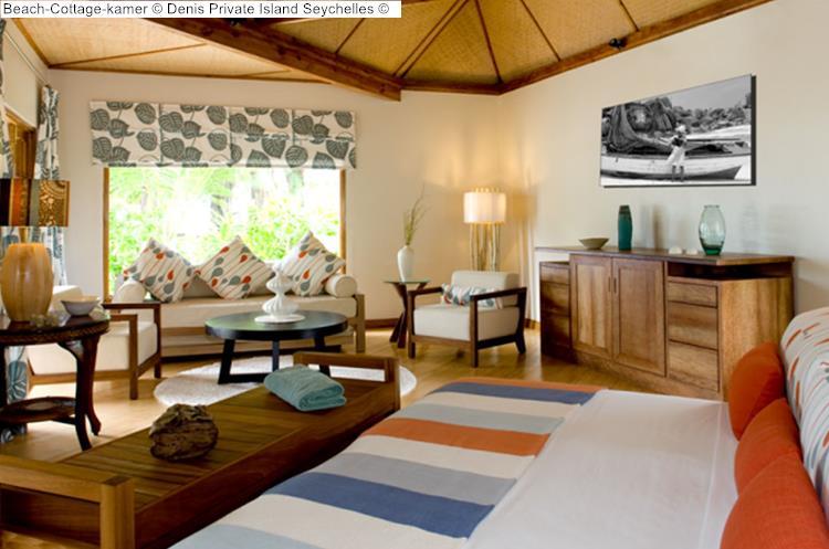 Beach Cottage kamer Denis Private Island Seychelles