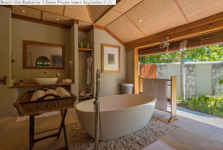 Beach Villa Badkamer Denis Private Island Seychelles