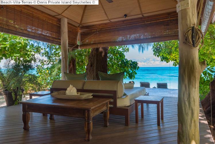 Beach Villa Terras Denis Private Island Seychelles