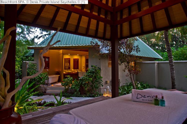 Beachfront SPA Denis Private Island Seychelles