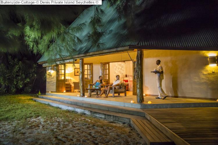 Buitenzijde Cottage Denis Private Island Seychelles