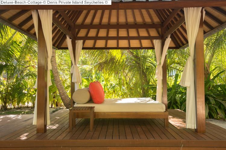 Deluxe Beach Cottage Denis Private Island Seychelles