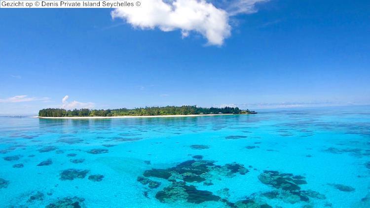Gezicht op Denis Private Island Seychelles