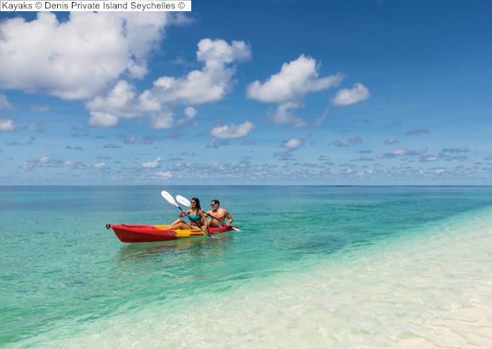 Kayaks Denis Private Island Seychelles