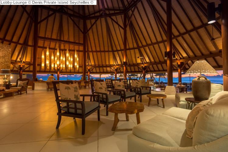 Lobby Lounge Denis Private Island Seychelles