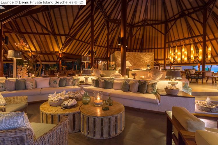 Lounge Denis Private Island Seychelles