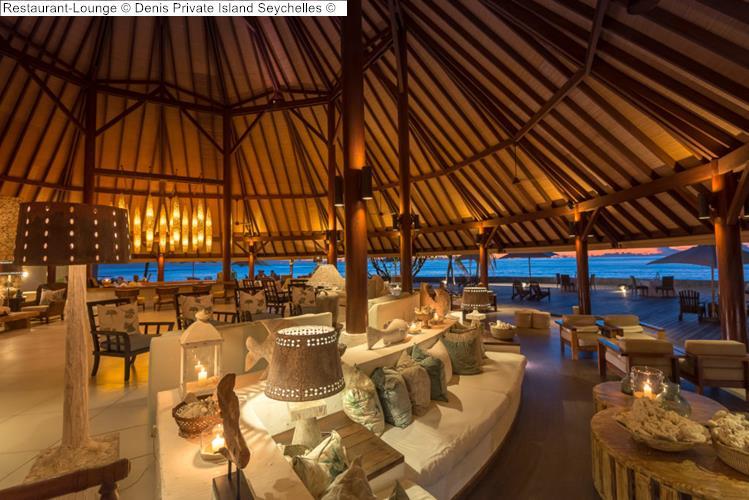 Restaurant Lounge Denis Private Island Seychelles